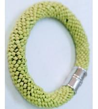Yeşil boncuk bileklik