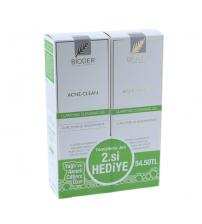Bioder Acne-Clean Temizleme Jeli 200ml- 2.si Hediye