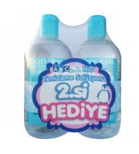 Bioderma Abcderm H2O 2x500ml - İkincisi HEDİYE