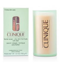 Clinique Facial Soap Oily Skin Formula With Soap Dish 100gr - Temizleyici Sabun