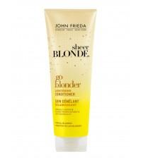 John Frieda Sheer Blonde Sarı Saçlara Güneş Işıltısı İçin Bakım Kremi