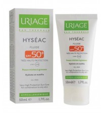 Uriage Hyseac Fluide Spf50 Krem (Oil Free) 50ml - Güneş Koruyucu